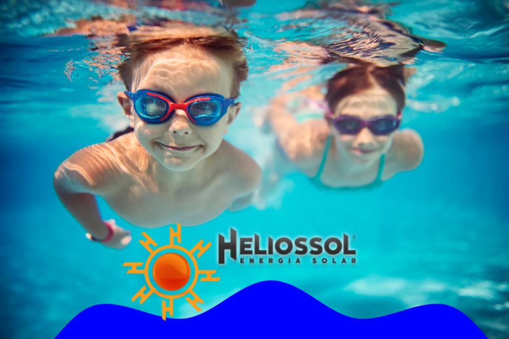 Construção de piscina é na Heliossol